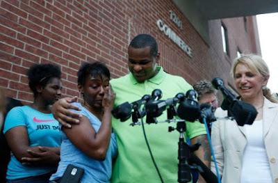 Alfred Brown was released from the Harris County Jail, Texas, Texas on June 8, 2015 (Photo: Houston Chronicle)