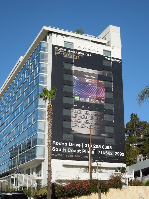 Porsche Blackberry billboard