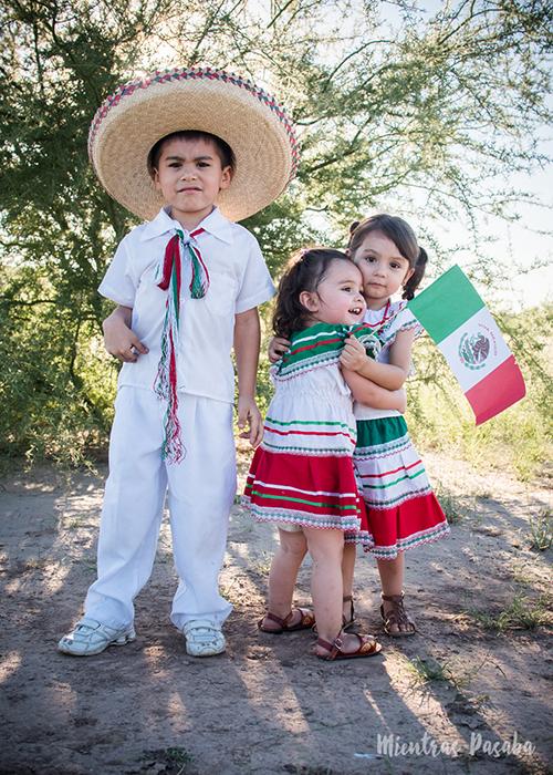 Sesión De Fotos A La Mexicana Para Niños