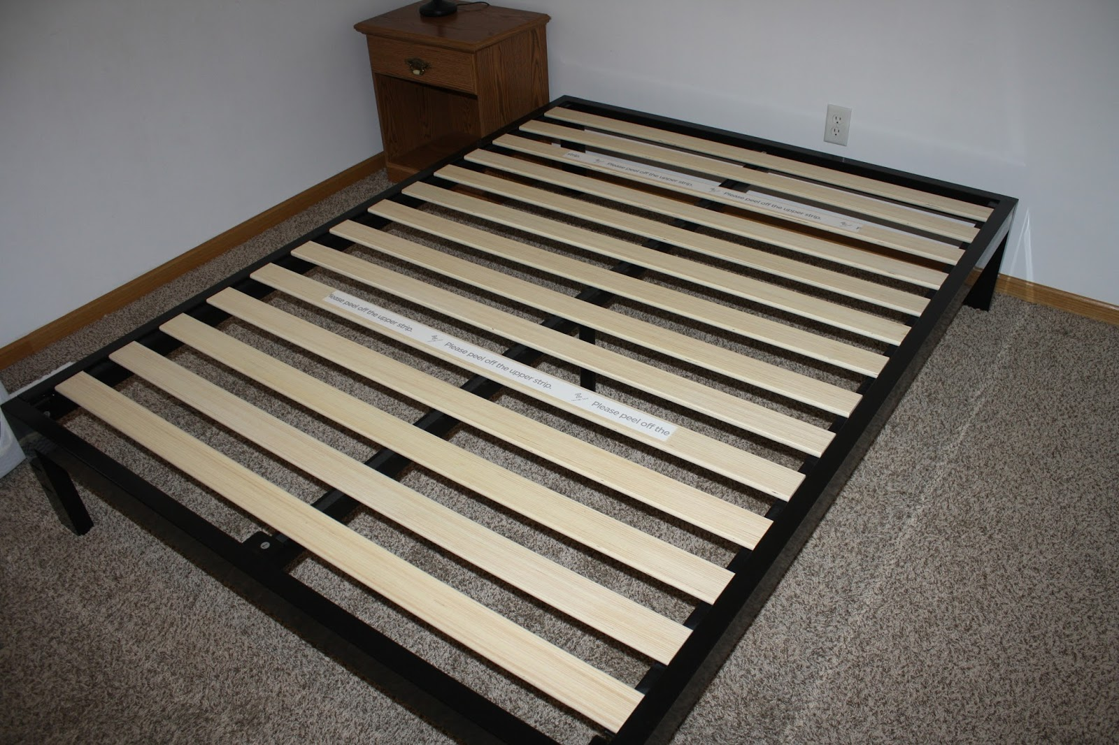 Vintage The Zinus Quicksnap Mattress Foundation