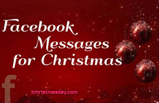 A Christmas message for facebook