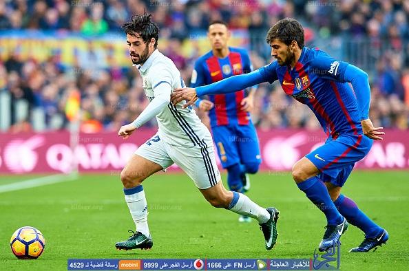 موعد ومشاهدة مباراة الكلاسيكو برشلونة وريال مدريد
