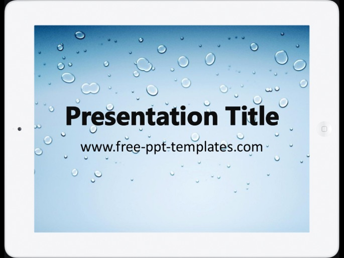 iPad PPT Template