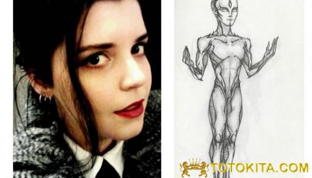 Seorang Wanita Mengaku Keturunan Alien