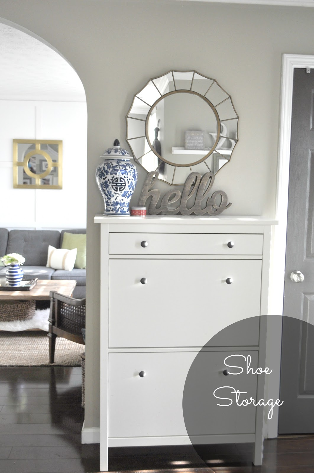 5 ways to create a welcoming and functional entryway for Ikea entry cabinet