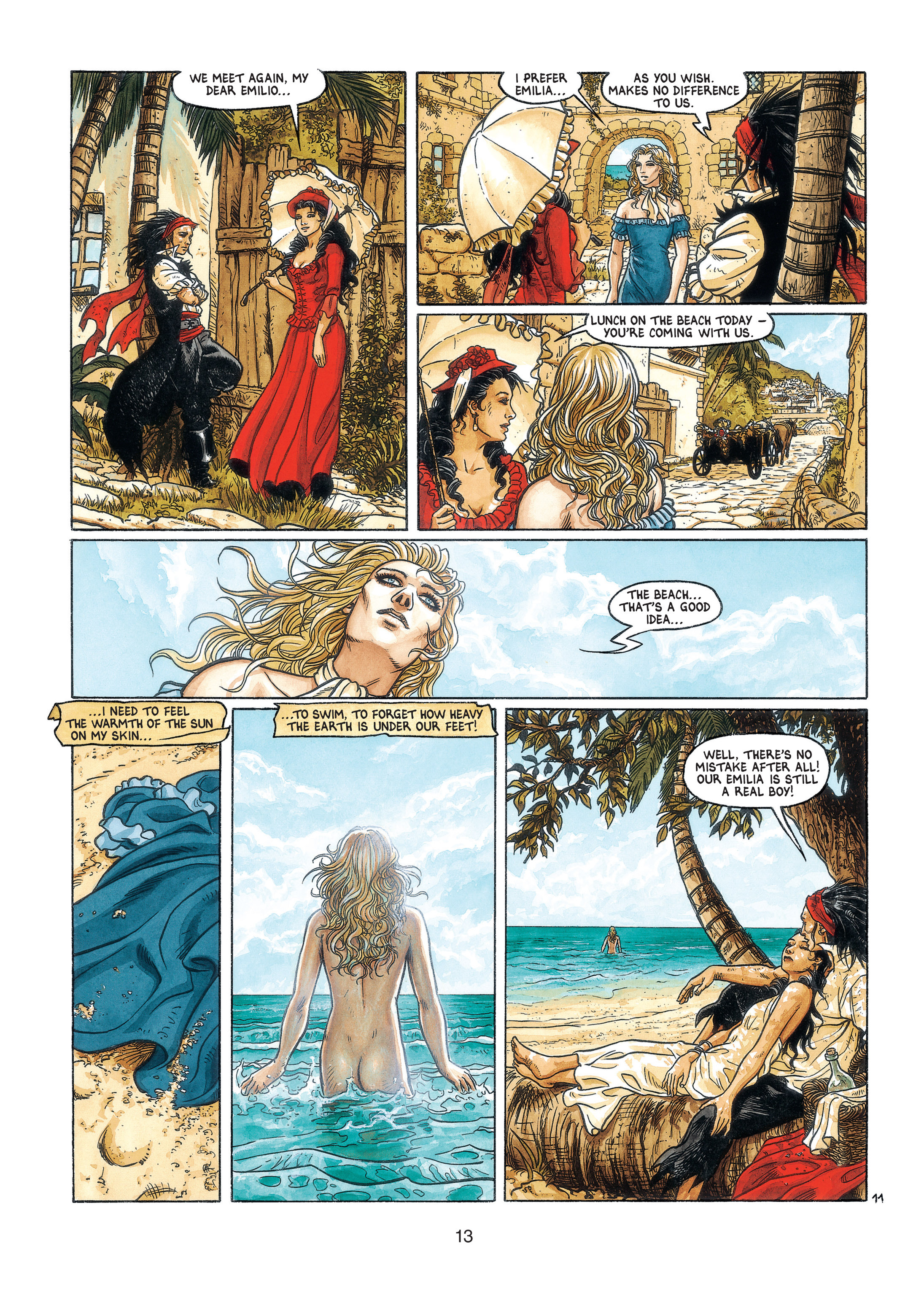 Read online Barracuda comic -  Issue #3 - 14