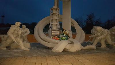 monumento agli eroi di chernobyl