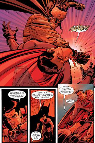 Soviet's Batman vs Superman Red Son