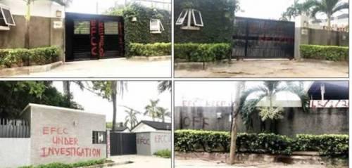 Saraki Under Strict EFCC Surveillance As His Houses Are Seized
