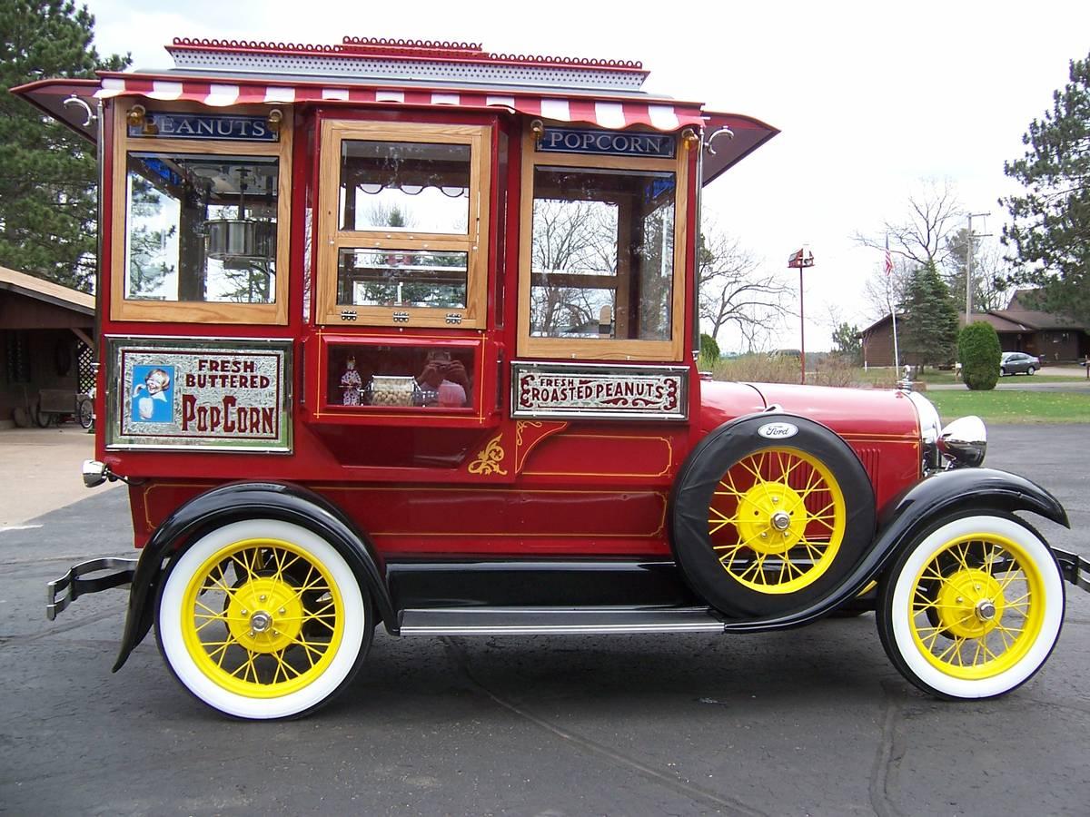 Daily Turismo 1928 Ford Model A Popcorn Wagon