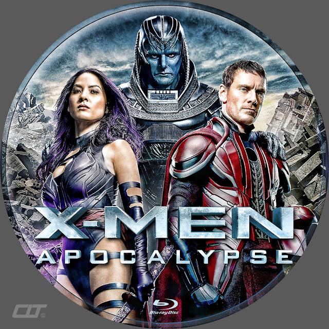 X-Men Apocalypse Bluray Label