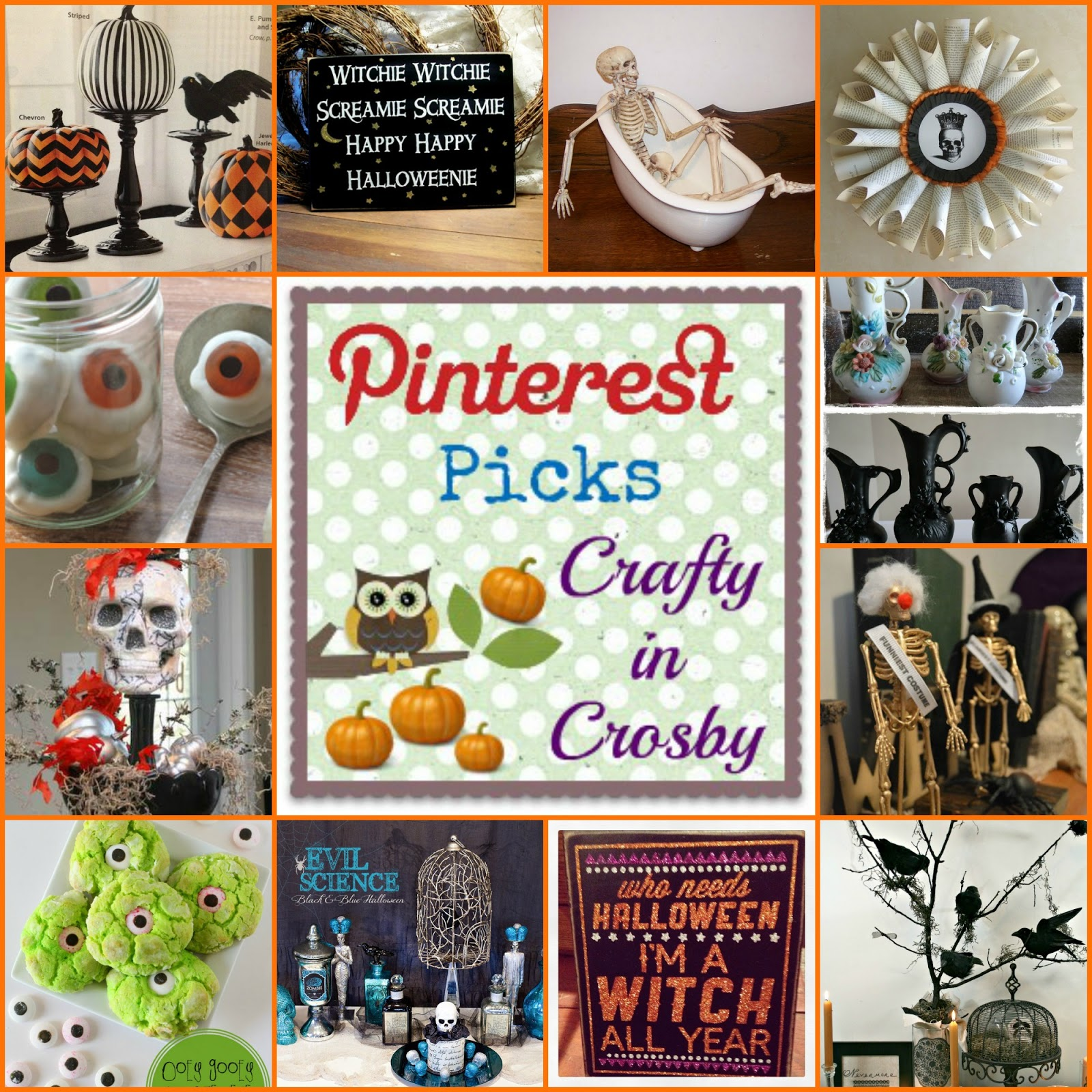 Halloween Home Decor Pinterest: Crafty In Crosby: Halloween Pinterest Picks