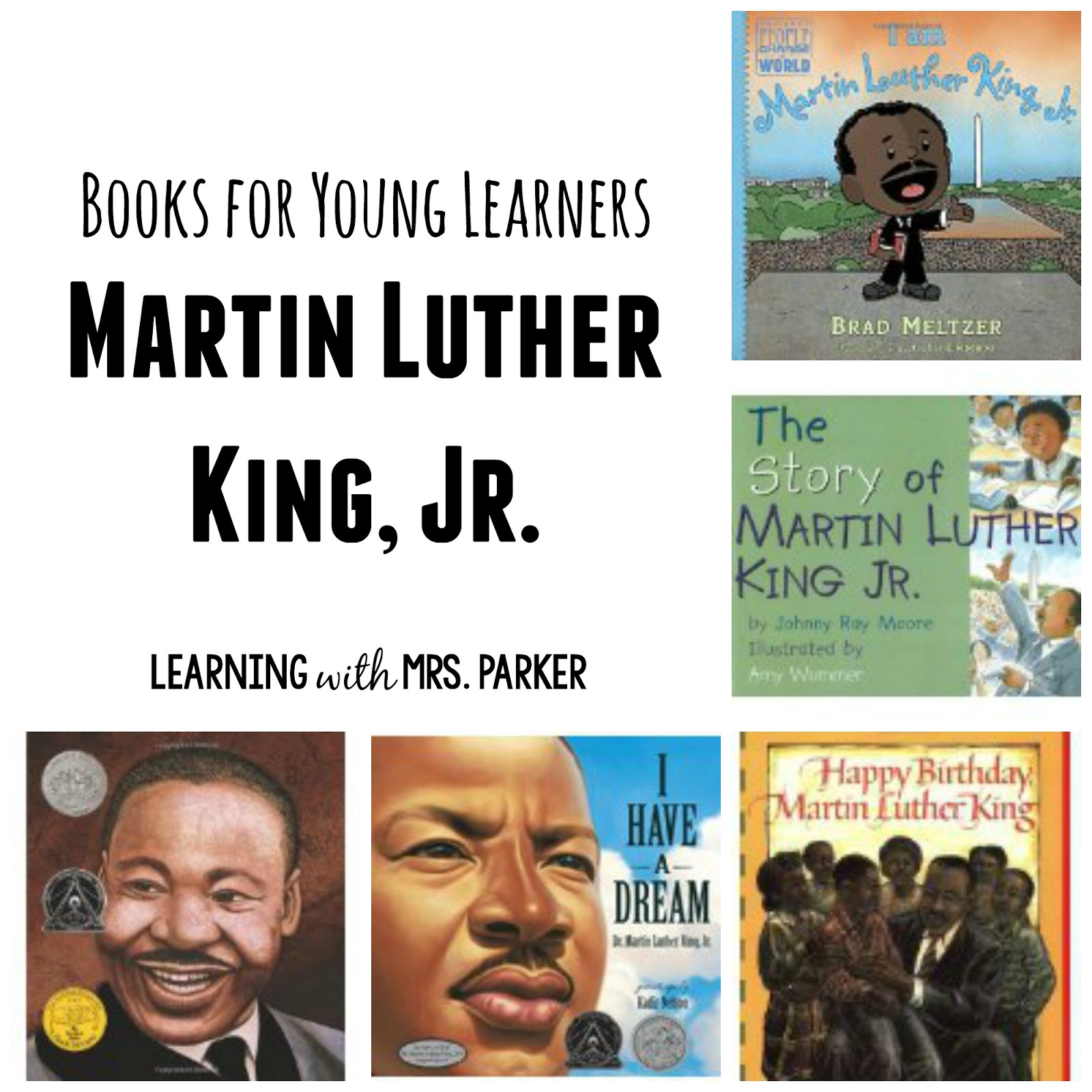 Books For Young Learners Mlk Jr Rosa Parks And Ruby Bridges