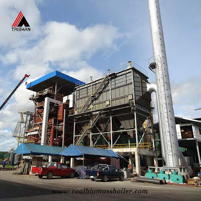 biomass boiler of taishan group