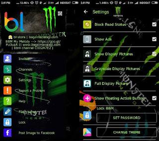 BBM MOD Whatsapp Monster Energy v2.12.0.11 Terbaru