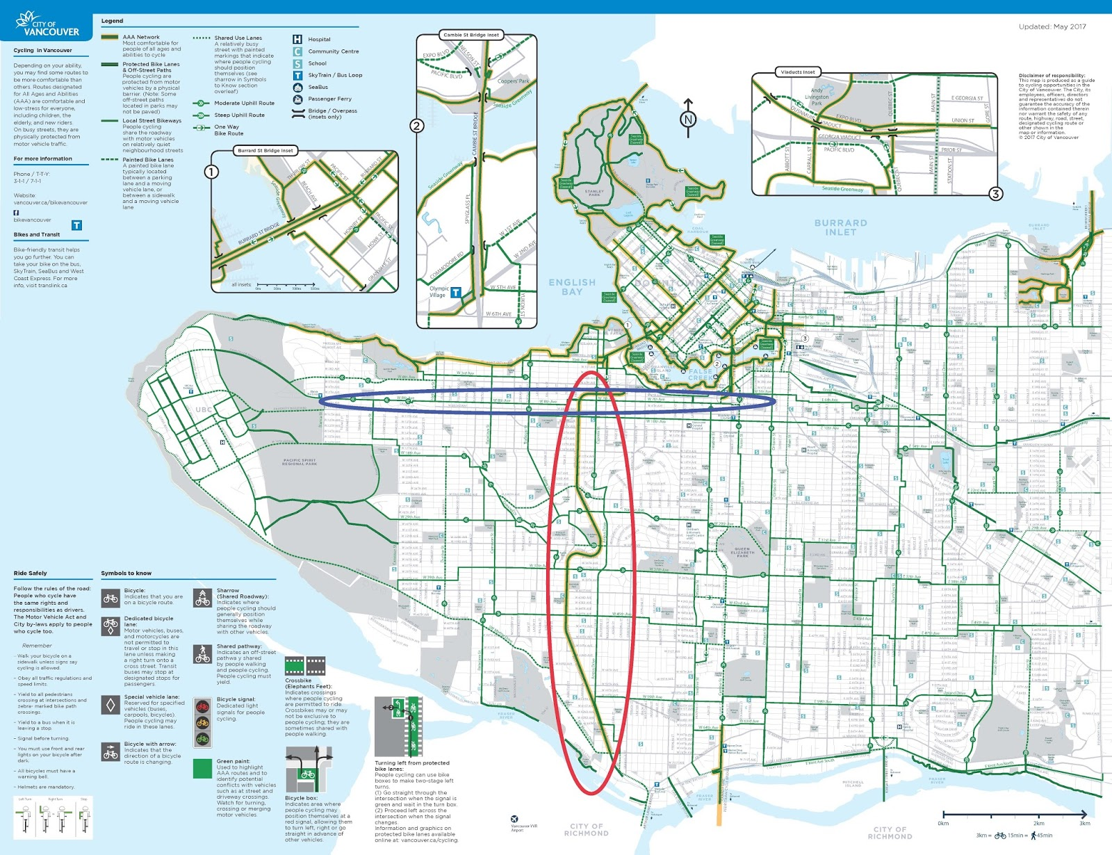 the quality of the temporary arbutus greenway rivals the quality of many of seattle s permanent trails like many of the facilities in vancouver