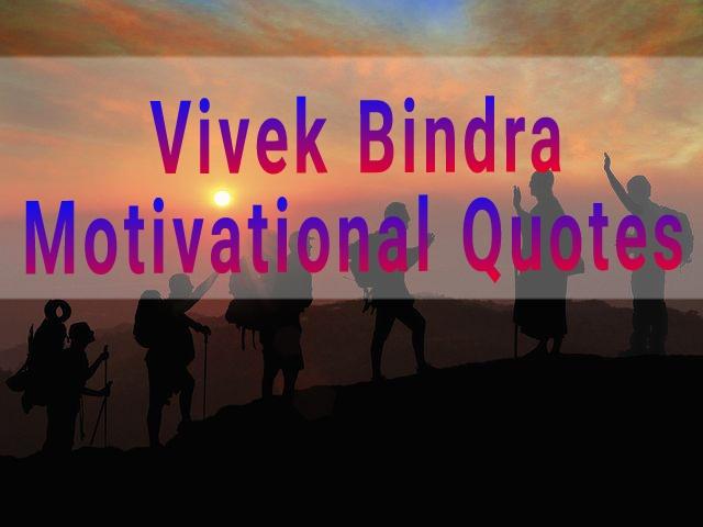 Vivek Bindra Motivational & inspiration Quotes In Hindi