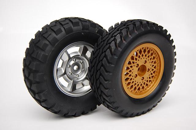 Tamiya Jeep Wrangler rc truck tires