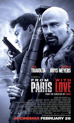 Sinopsis film From Paris with Love (2010)