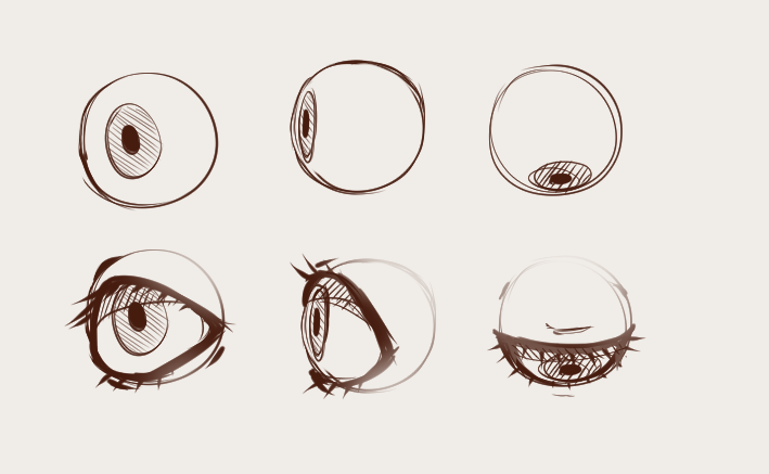 how to draw semi realistic face