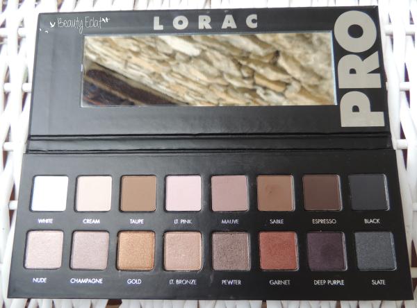 revue avis test pro palette lorac