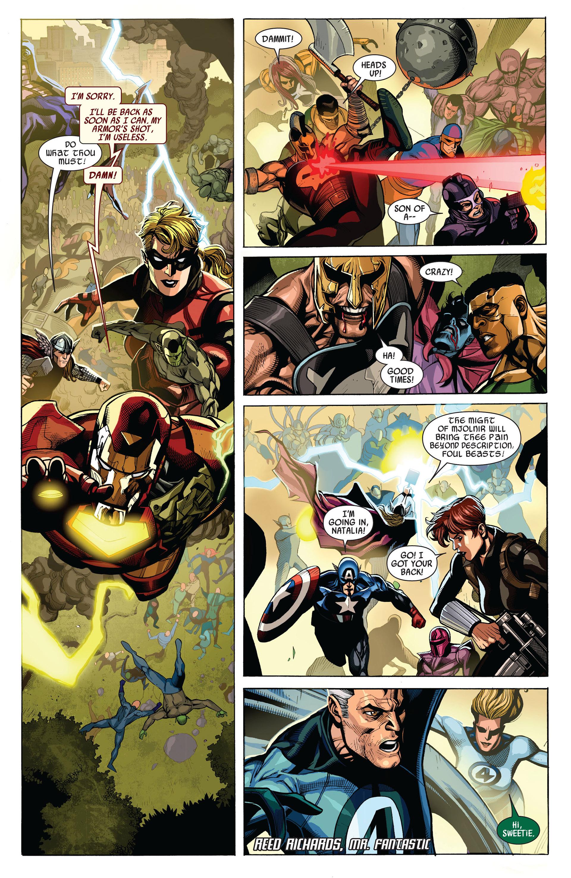 Read online Secret Invasion comic -  Issue #7 - 9