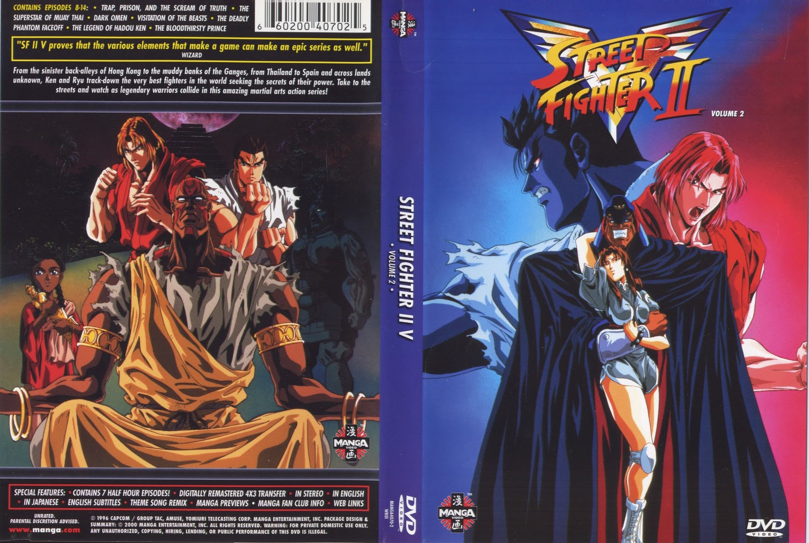 Street Fighter II: Victory Vol 2 Torrent – Dublado DVD-R Dual Áudio