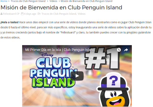 Trucos de Club Penguin Island