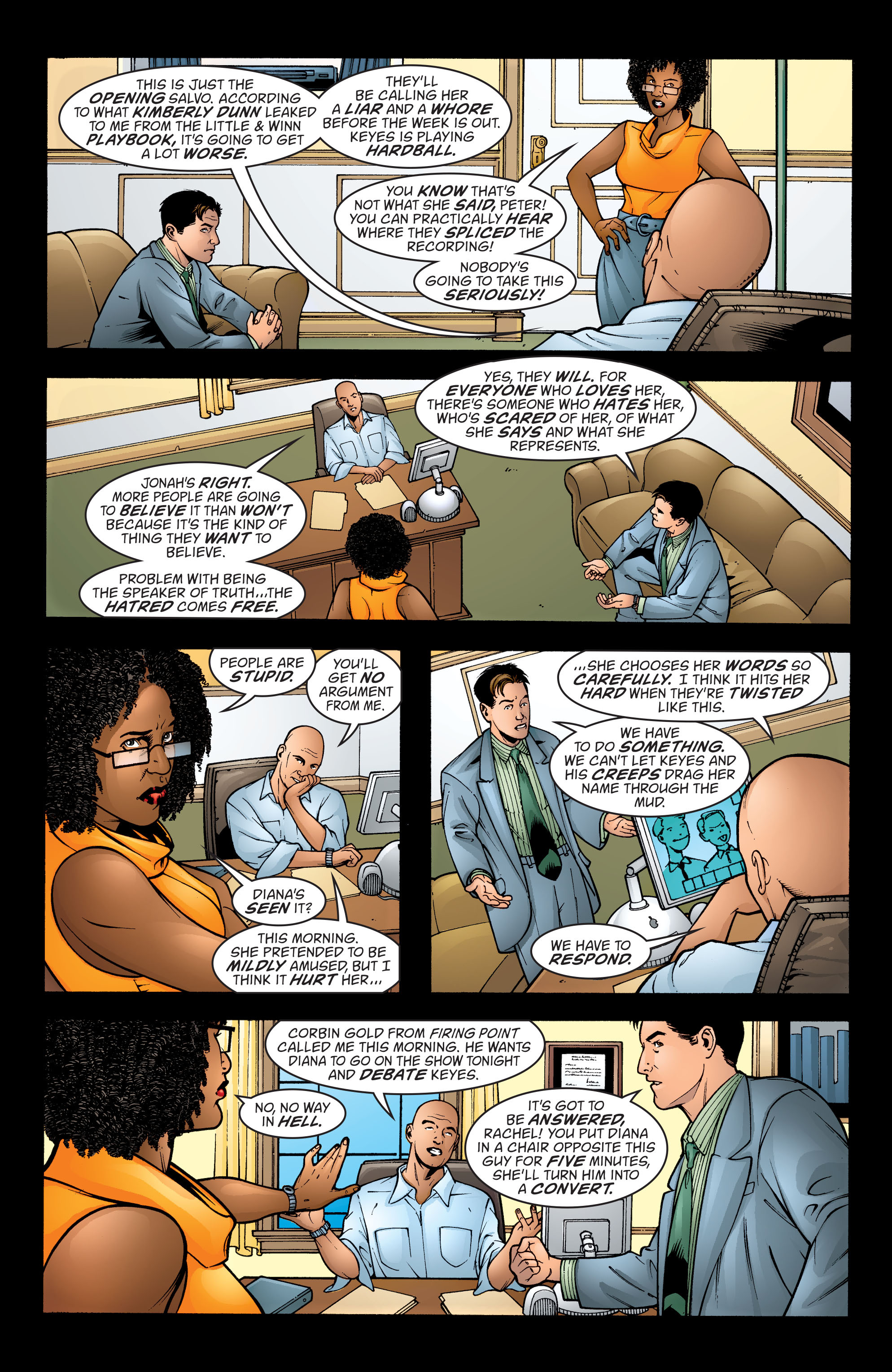 Read online Wonder Woman (1987) comic -  Issue #198 - 9