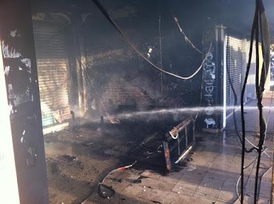 Rumah Api Terbakar