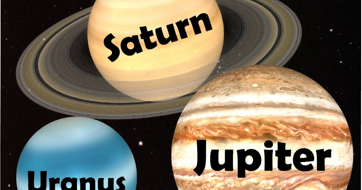 about the four outer planets - photo #27