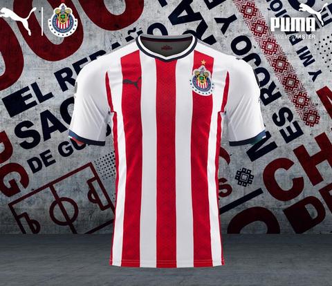 1616a70dbea97 Nuevas camisetas de futbol 2019 2020  Nueva camiseta del Chivas de ...