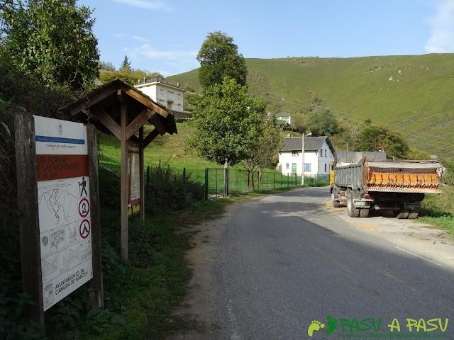 Ruta Pomar de las Montañas: Saliendo de Besullo