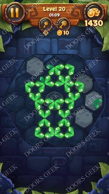 Gems & Magic [Ruby] Level 20 Solution, Walkthrough, Cheats