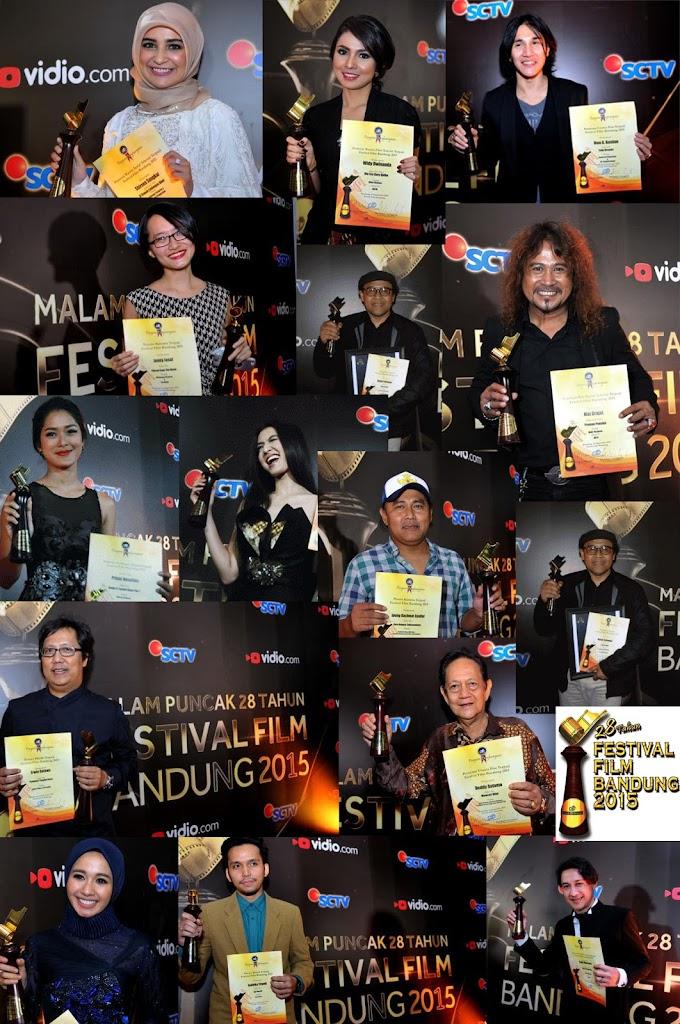 Daftar Lengkap Pemenang Festival Film Bandung Ke-28 Tahun 2015