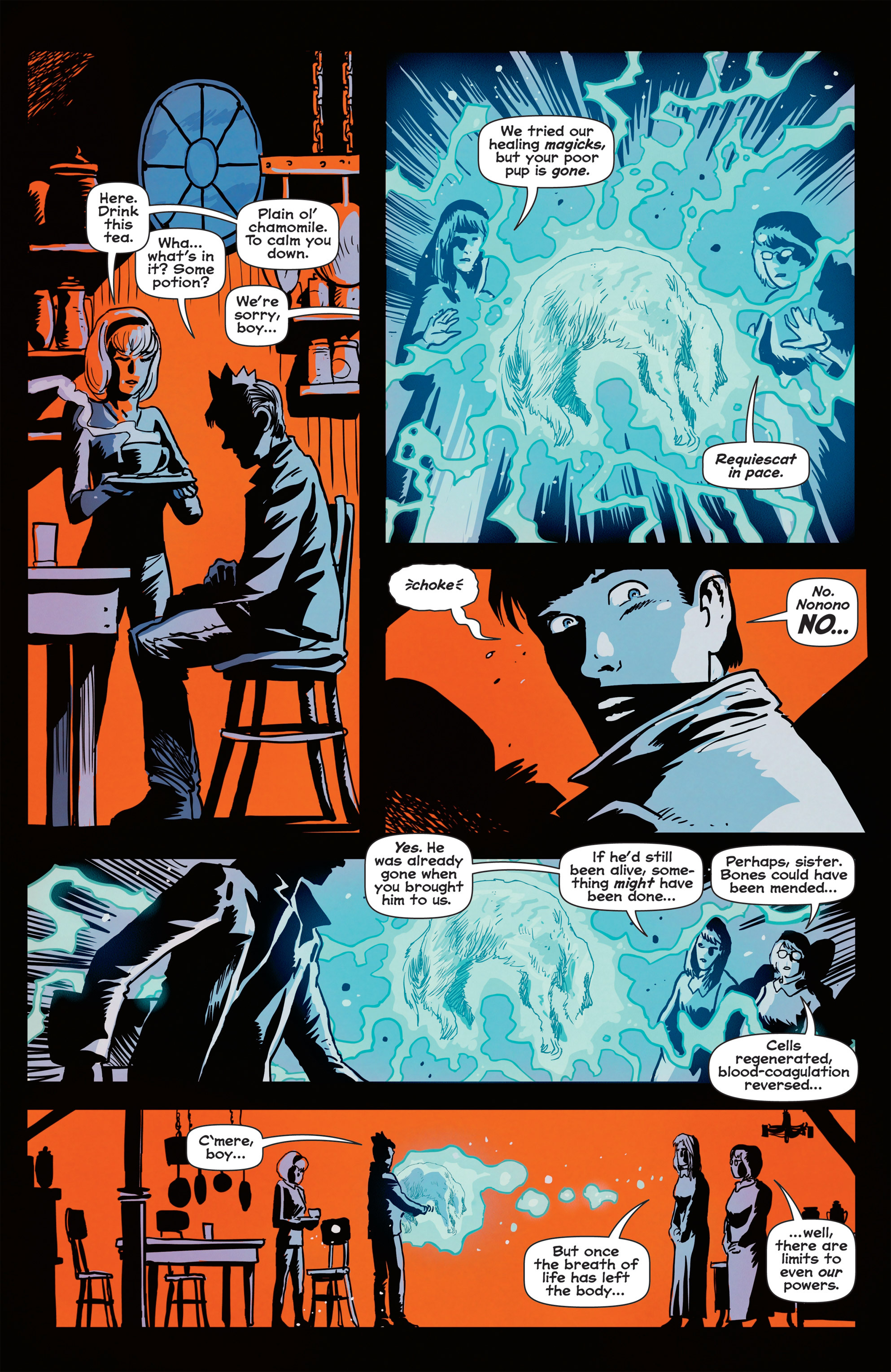 Read online Afterlife with Archie comic -  Issue #1 - 6