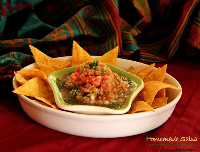 images of Salsa Recipe / Fresh Tomato Salsa Recipe / Easy Homemade Salsa / Raw Salsa Recipe