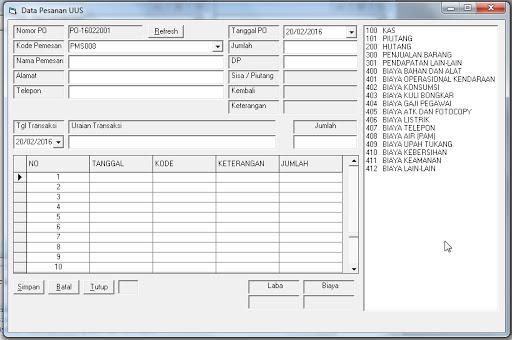 Source Coding Program Akuntansi Paling Lengkap v.2 di Visual Basic 6.0