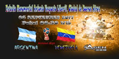 JUDI BOLA DAN CASINO ONLINE - PREDIKSI PERTANDINGAN KUALIFIKASI PIALA DUNIA AMERIKA SELATAN ARGENTINA VS VENEZUELA 06 SEPTEMBER 2017
