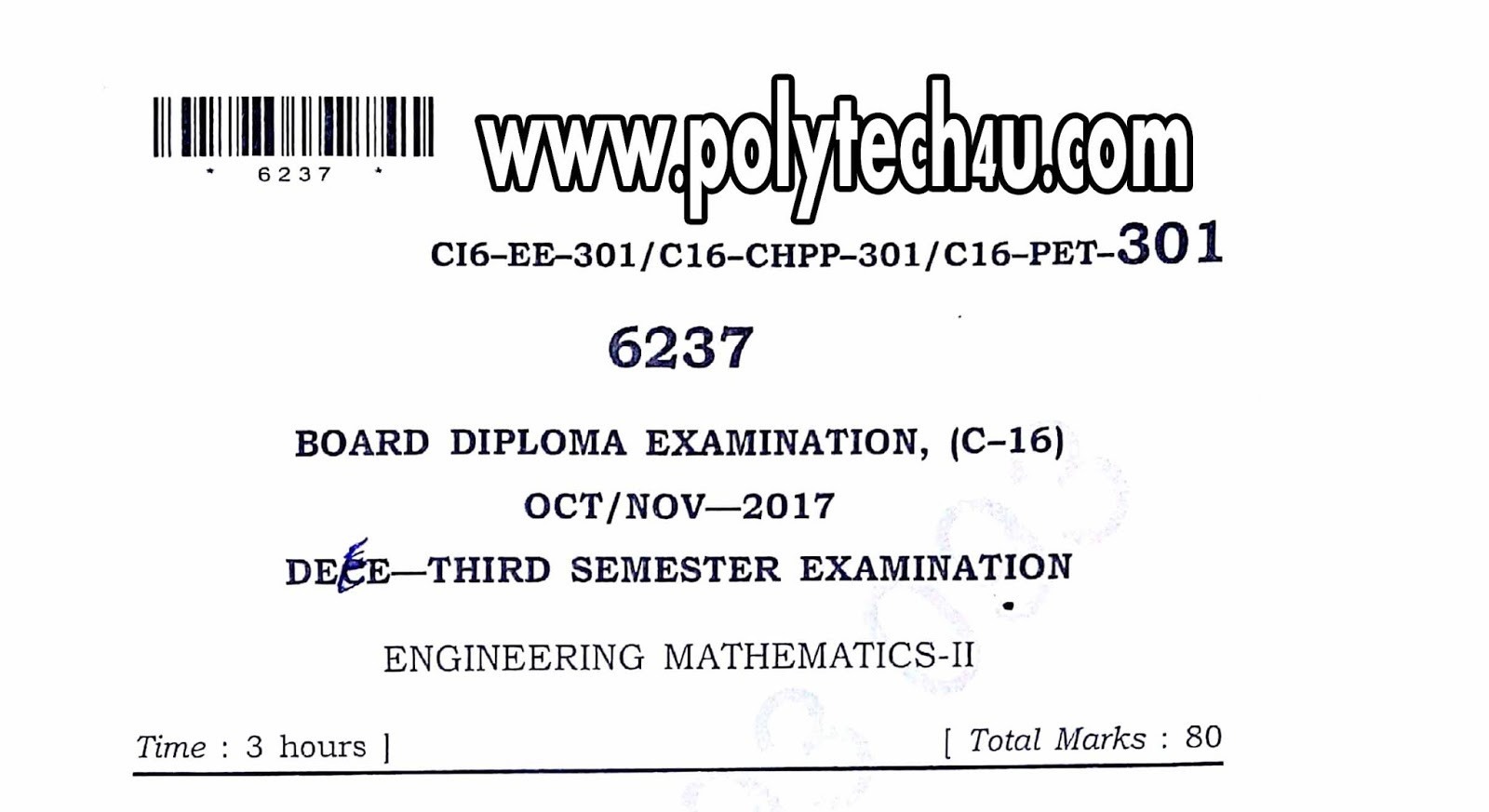Diploma maths 2 c 16 eee old question paper pdf octnov 2017 sbtet click below for free download engineering mathematics 2 question paper fandeluxe Images