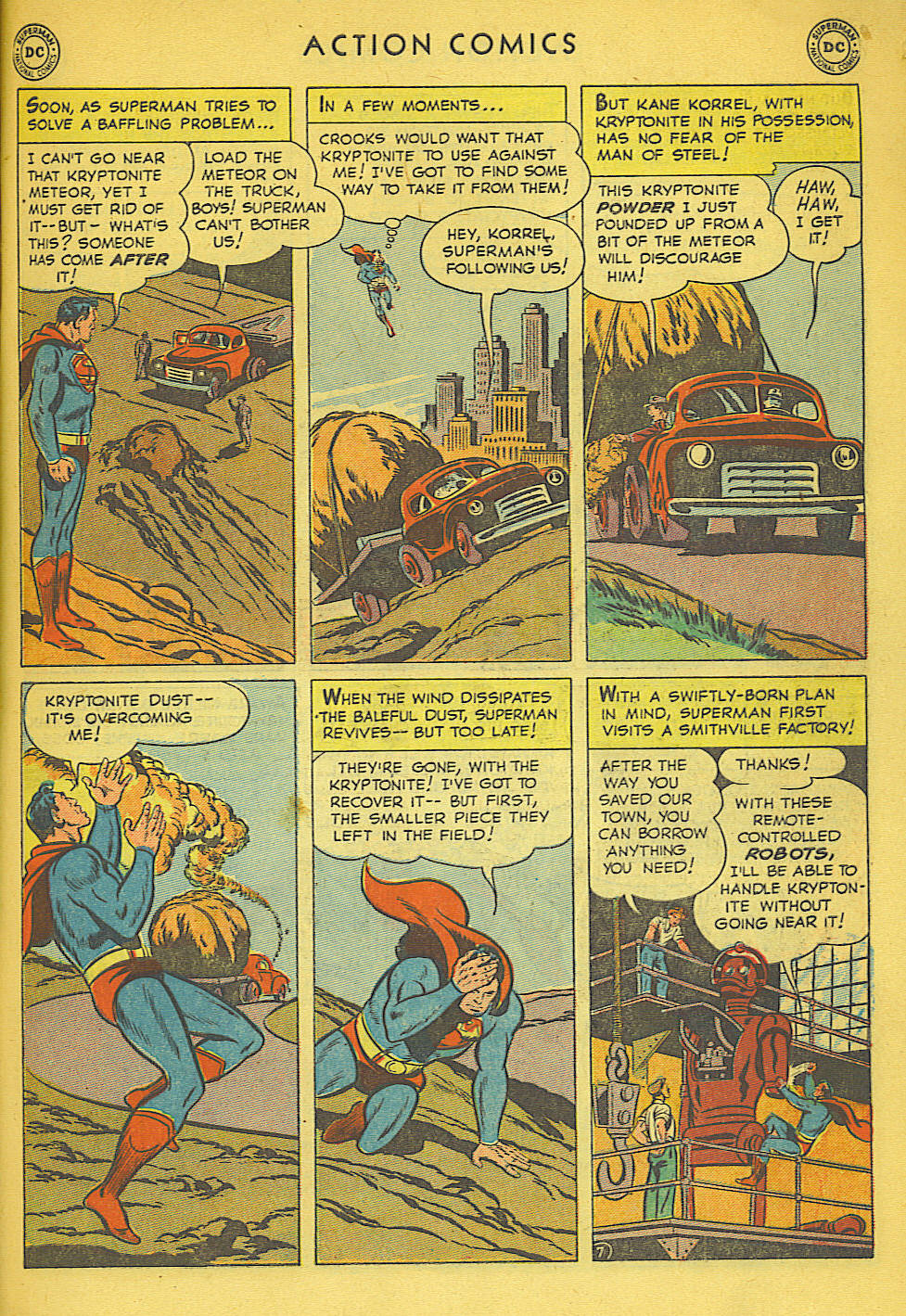 Read online Action Comics (1938) comic -  Issue #158 - 8