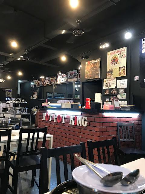 Pilihan Rotikaya Steamboat & Grill di Restoran Hot Pot King KL