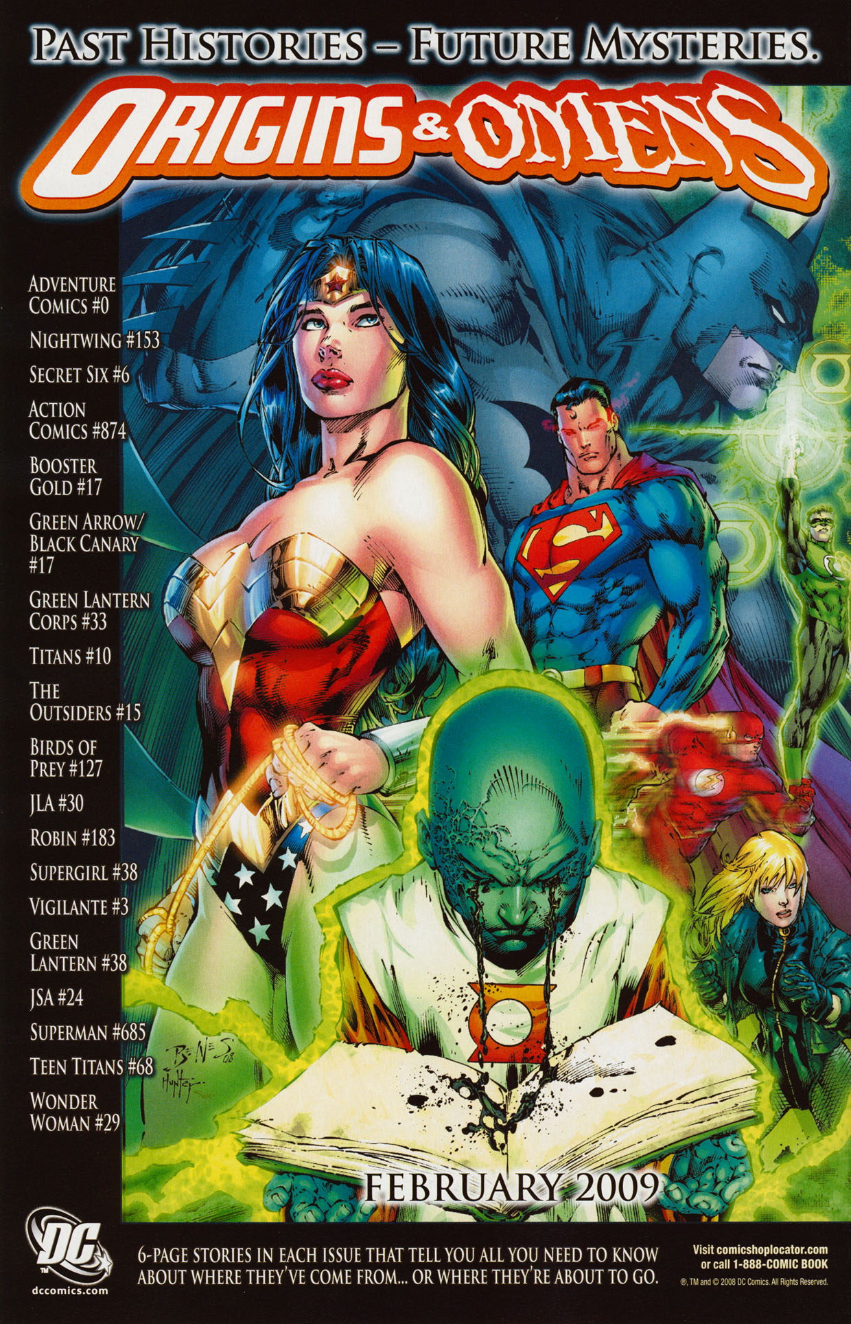 Read online Trinity (2008) comic -  Issue #35 - 21