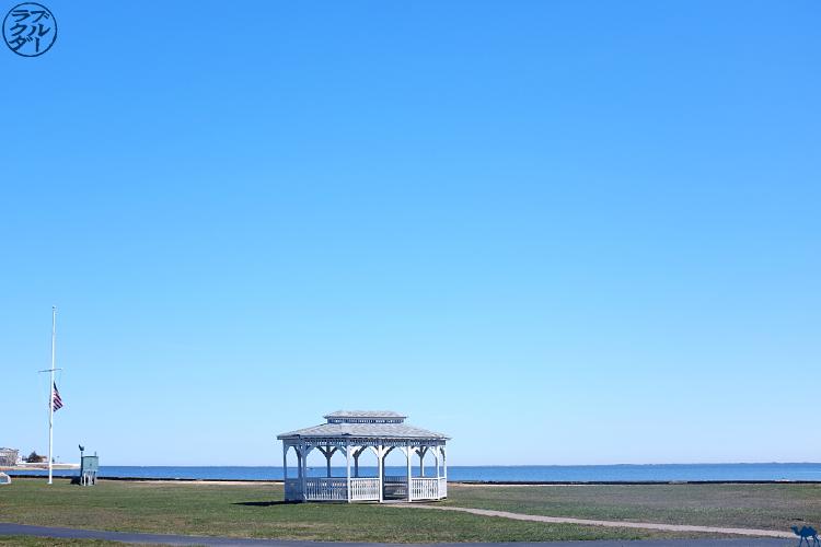 Le Chameau Bleu - Kiosque de Patchogue à Long Island - New York USA