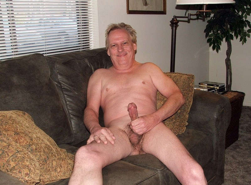 Naked fat hairy gay old men