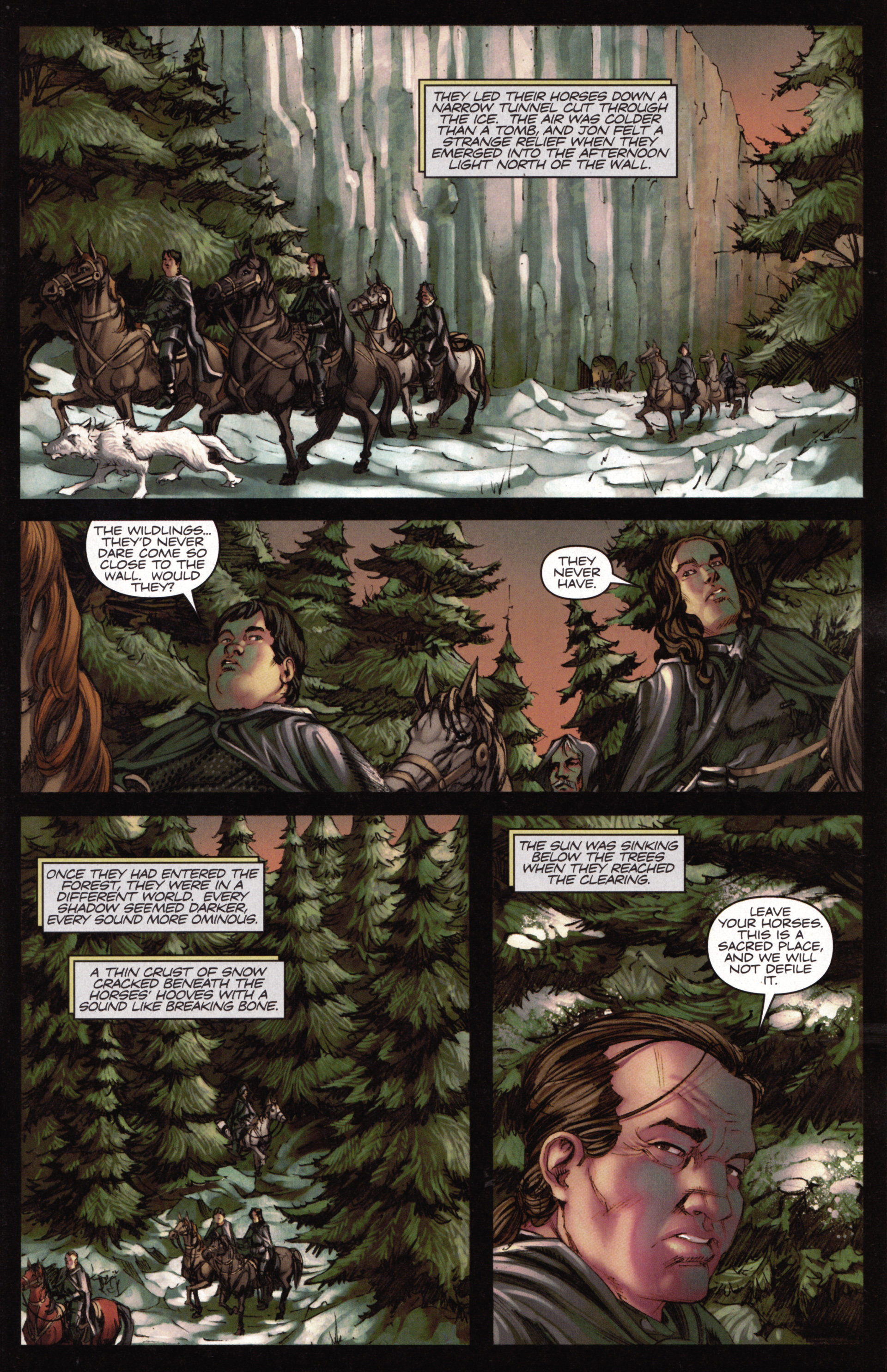 Read online A Game Of Thrones comic -  Issue #15 - 9
