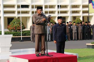 Upacar peringatan Hari Kartini Ke-138-Humasblorakab