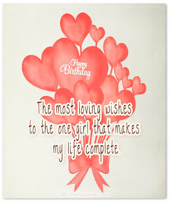 birthday wishes for girlfriend in hindi