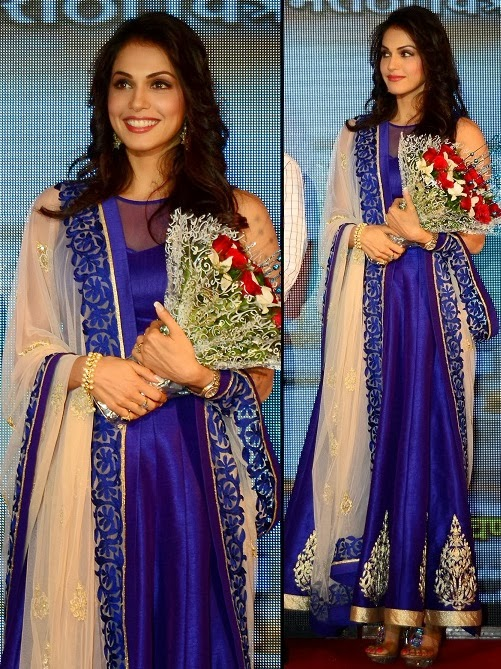 39635dd80a5 Bollywood Celebrities in Indian Designers Long Anarkali Suits ...