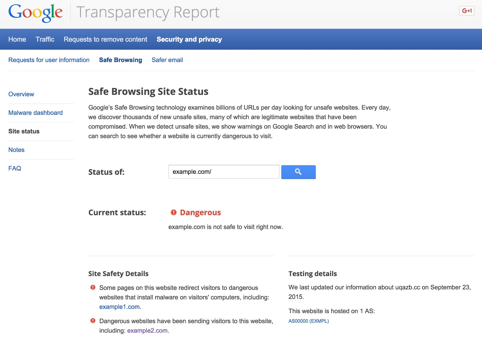 google online security blog behind the red warning more info about